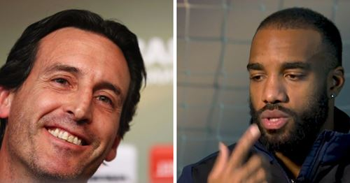 Lacazette names what he values most in Emery