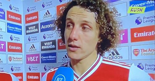 David Luiz gives honestly brutal opinion on Arsenal fitness despite United win