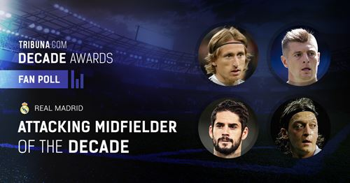 🏆 Fan Voice: Who is Real Madrid's attacking midfielder of 2010s?