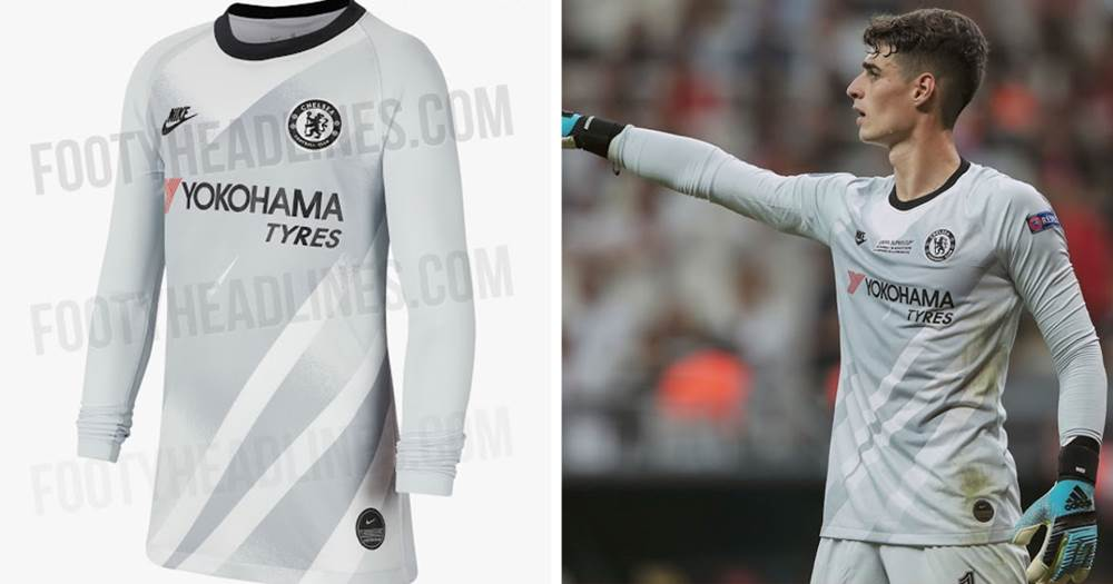 best website c3427 5bdf1 Kepa spoils new unreleased goalkeeper kit during UEFA Super ...