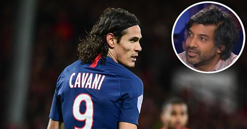 """Dhorasoo attend """"une réaction du public"""" parisien pour influencer sur la situation de Cavani au PSG"""