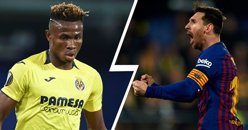 Villareal player Chukwueze reveals he couldn't sleep because of Messi