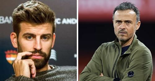 Pique shares his opinion on Luis Enrique's controversal Spain return