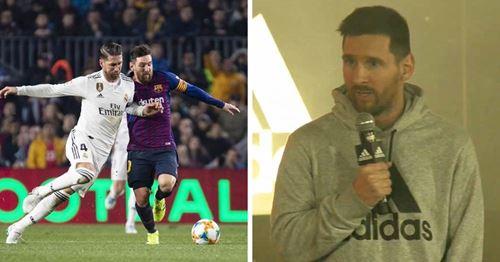 Messi erwartet keine einfachen drei Punkte für Barca im Clasico-Duell
