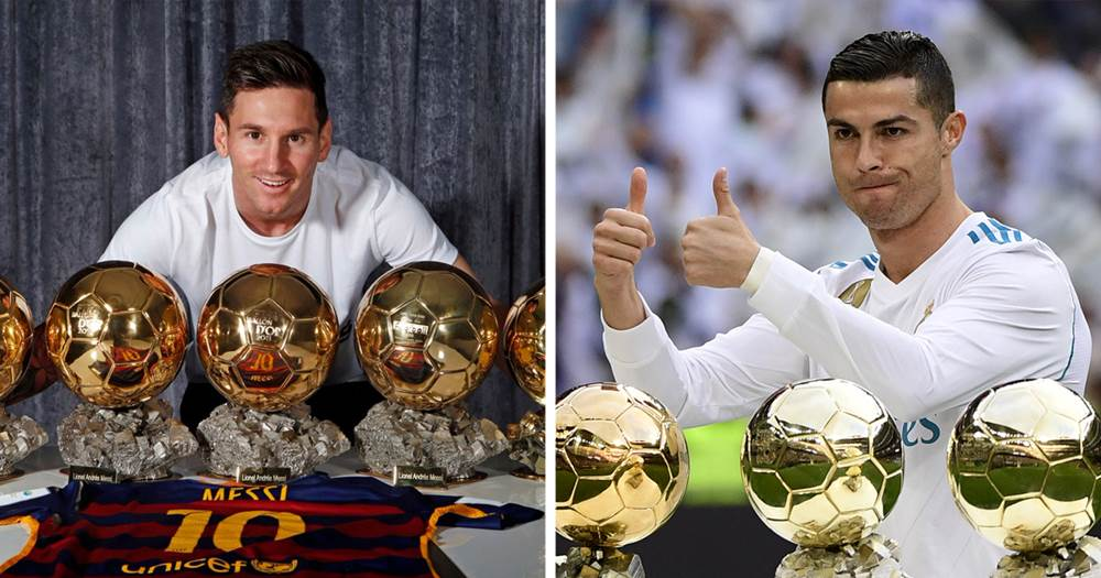 Image result for images of I deserve more Ballon d'Or awards than Messi - Ronaldo