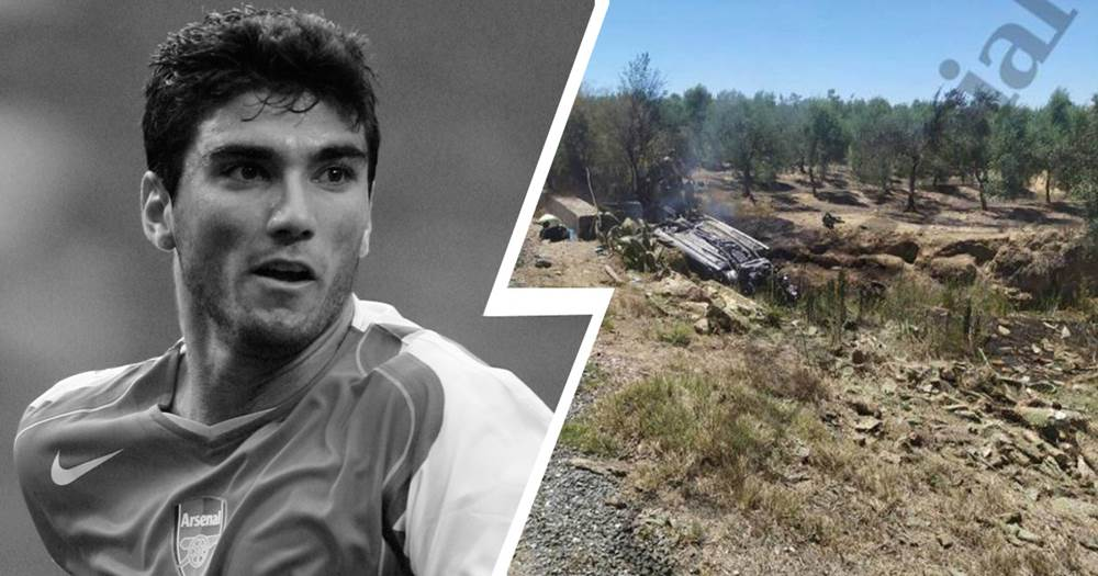Horrible pictures emerge from Reyes' tragic car accident - Tribuna com