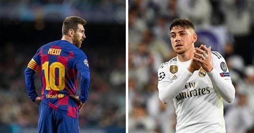 Diario Sport: Fede Valverde wird Messi im Clasico manndecken