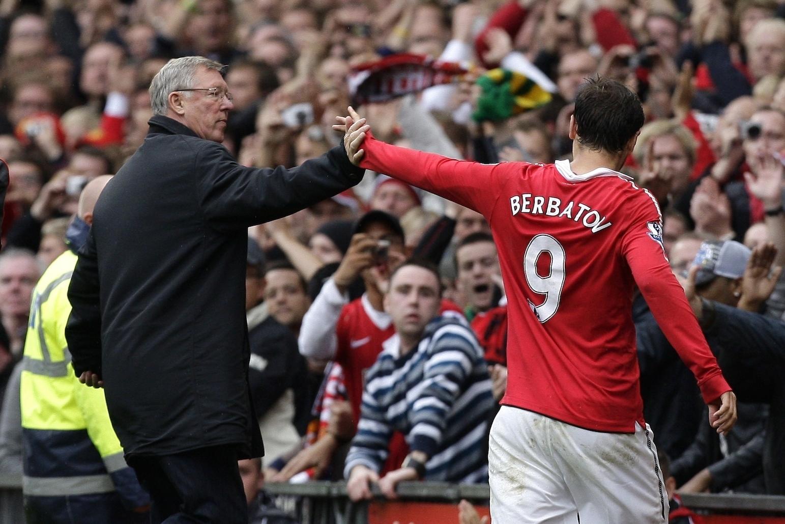 Dimitar Berbatov looks back on United career Easy choice between