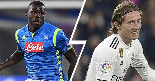 Madrid consider using Modric as a bargaining chip to get Koulibaly