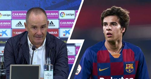 Zaragoza coach reportedly asks the club to make Riqui Puig their main January objective