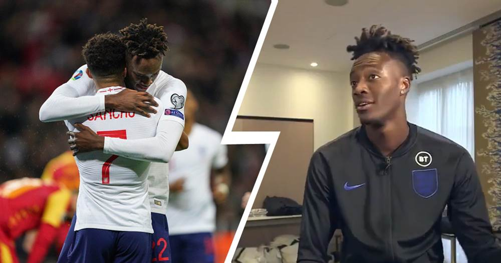 'Just a dream come true': Tammy Abraham talks Jadon Sancho partnership amid Chelsea links - logo