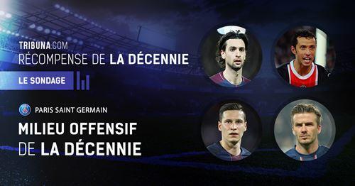 🏆 La parole aux fans: Qui est le milieu de terrain offensif du PSG des années 2010?