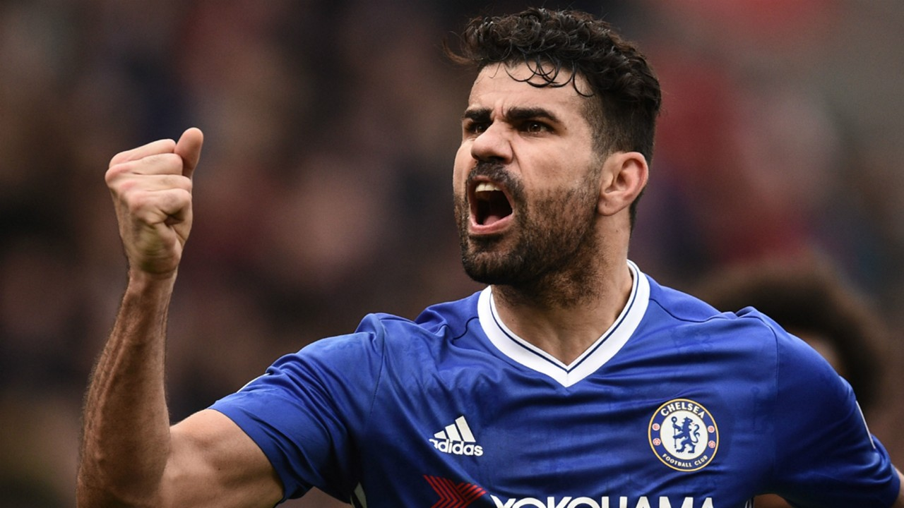 Diego Costa in the Premier League for Chelsea