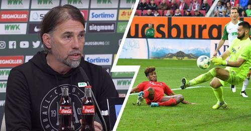"""Augsburg-Coach Schmidt: """"Die Bayern hätten 5:1 gewinnen können"""""""