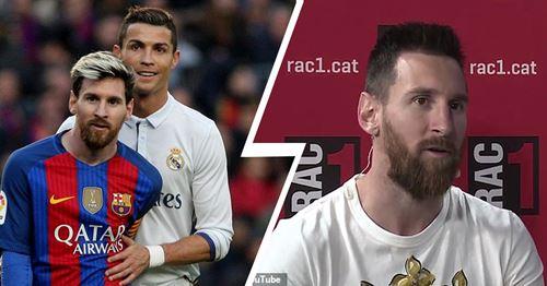 Messi explains why he still misses Ronaldo in La Liga