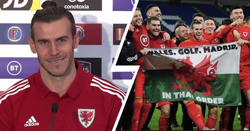 'Good bit of fun': Gareth Bale reacts to 'Wales-Golf-Madrid' chants during international matches