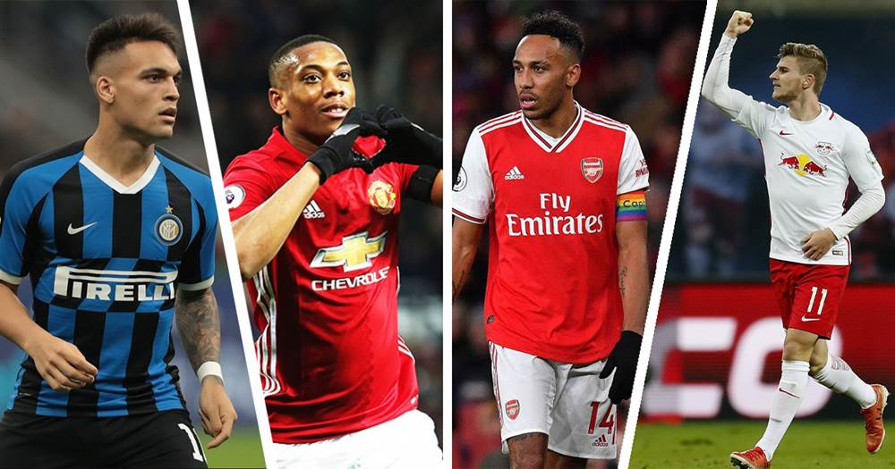 L'Inter sceglie i tre sostituti a Lautaro: Aubameyang, Werner e Martial. Griezman resta un sogno