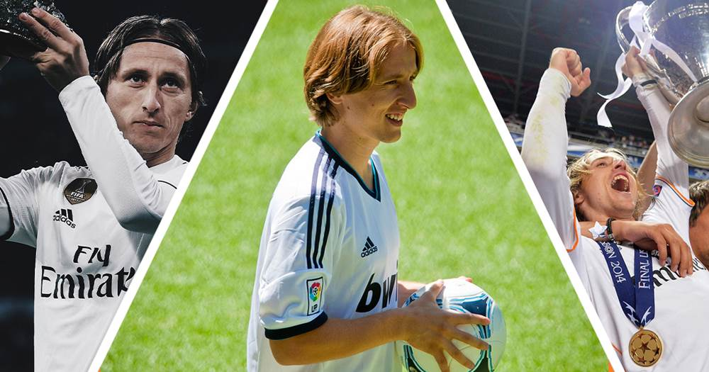best website 08587 b08e0 Seven years ago Luka Modric joined Real Madrid from ...