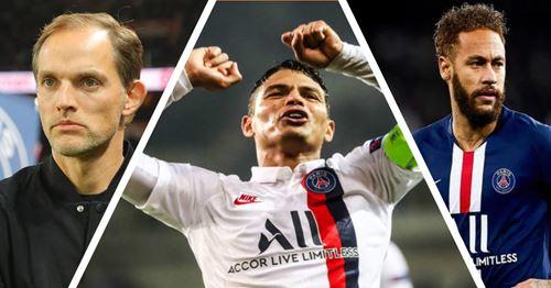 """""""Il doit rester tranquille dans la tête"""": Thiago Silva revient sur Neymar et sur sa relation avec Tuchel"""