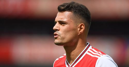 Inter and Milan to tussle for Xhaka in January