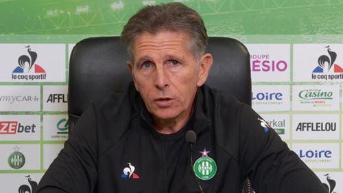 """Claude Puel veut que l'AS Saint Etienne prenne du plaisir face à """"une équipe formatée pour gagner la LDC"""""""