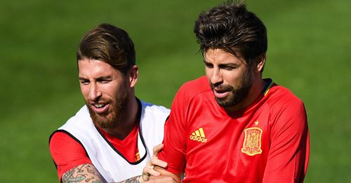 Pique opens up on relationship with Sergio Ramos: 'There was a time when we struggled with it'