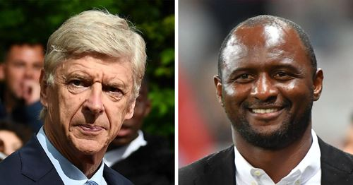'It's his passion, it's his life': Patrick Vieira hopes to see Arsene Wenger back in football again soon