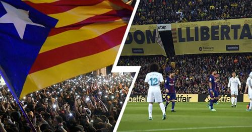 El Clasico could be rescheduled AGAIN due to planned political protests