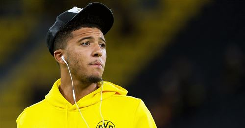 United learn mind-blowing price tag for Jadon Sancho