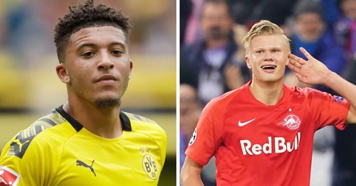 United fans slam reports of £200m double swoop for Sancho and Haaland: 'Don't fall for it'