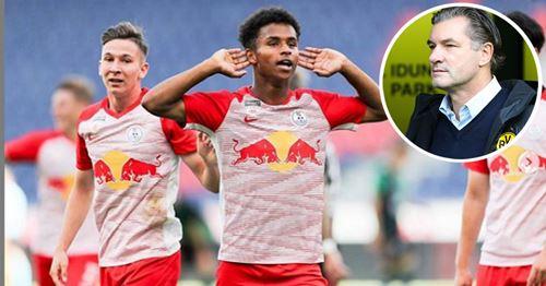Barca chances of signing Zalzburg starlet Adeyemi slashed as Dortmund enter the race