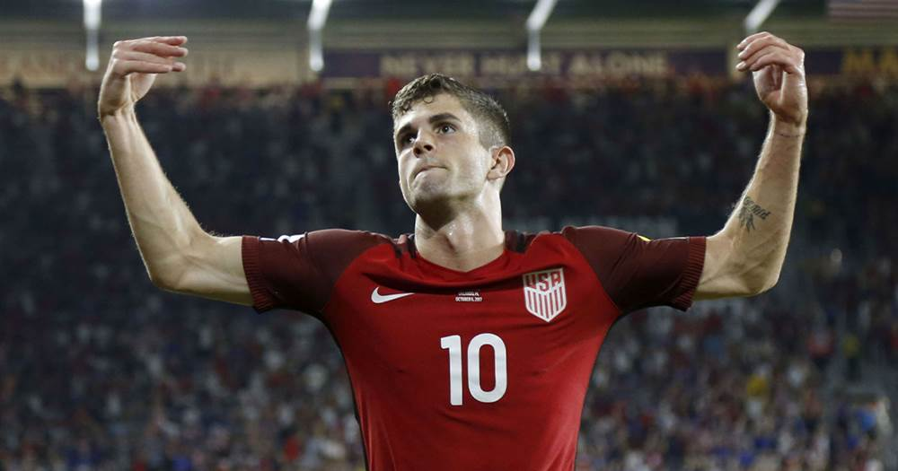 0ce4637c3 Pulisic becomes the youngest ever player to score 10 goals for US ...