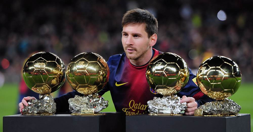 """Image result for messi ballon d'or trophies"""""""
