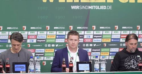 """""""Haben ein gutes Spiel gemacht, wirklich"""": Pressekonferenz nach dem Spiel vs. Augsburg in voller Länge"""