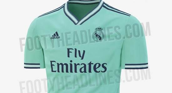 new concept be05a 582a5 Leaked: Real Madrid third kit for 2019/2020 season - Tribuna.com