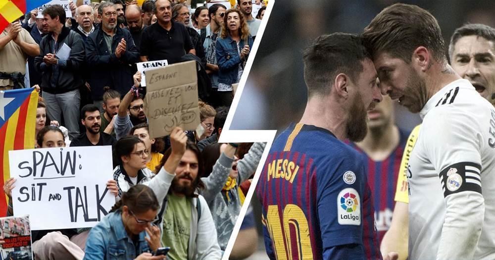 Katalanische Demonstranten bestreiten jegliche Absicht, El Clasico am 18. Dezember zu stören