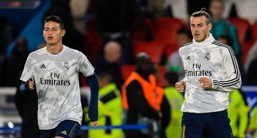 Real Madrid could sell Bale and James to generate 200m euros