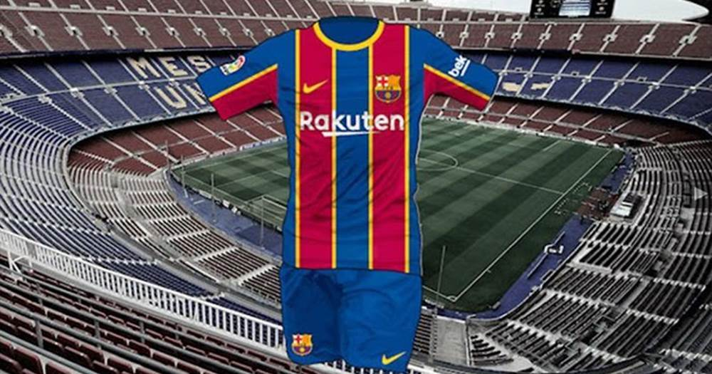 first images of barca s brand new 20 21 season kit leaked by footy headlines tribuna com 21 season kit leaked by footy headlines