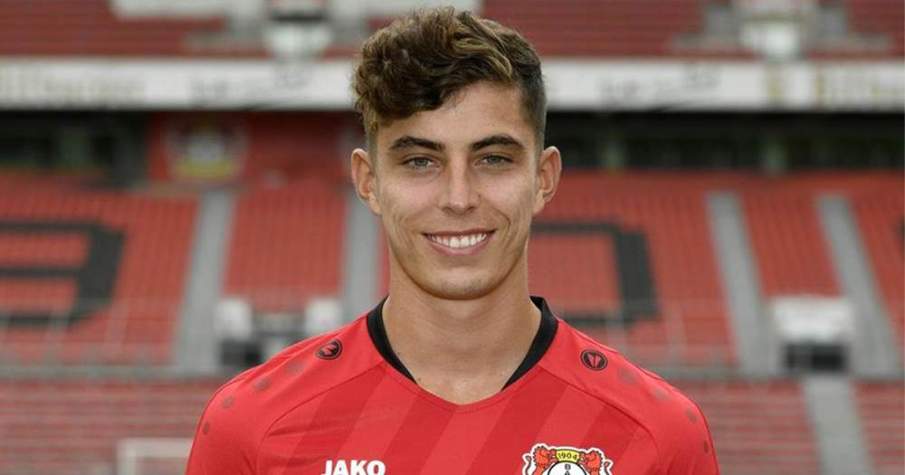 Bild: Chelsea in talks with Bayer over €130m-rated young sensation Kai Havertz - logo