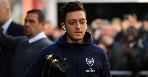 What would you tell Ozil if you met him outside the stadium?