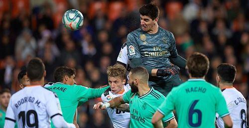 Zidane on Thibaut's corner kick magic: 'It was Courtois who decided to'