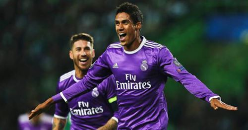 Throwback: Relive Raphael Varane's goal against Sporting in Champions League