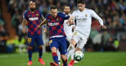 Jordi Alba war angeblich beim Clasico nicht komplett fit