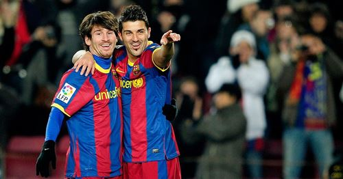 David Villa: I didn't have any problems with Messi