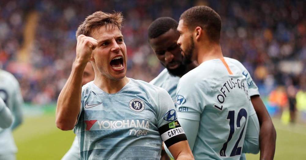 Image result for cardiff 1-2 chelsea + fans