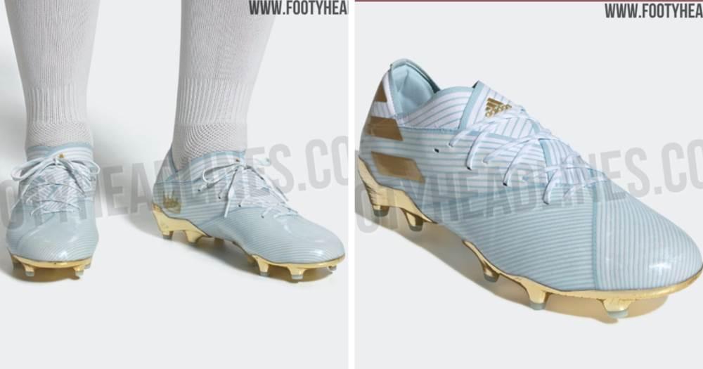 expedición manguera cebolla  New Adidas Messi '15 Years' boots leaked - Tribuna.com