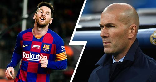 3 ways Zinedine Zidane can stop Lionel Messi explained in one minute