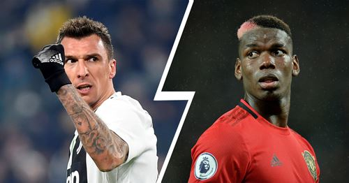 Juventus chief reportedly in London to hold talks with United, Mandzukic and Pogba on agenda