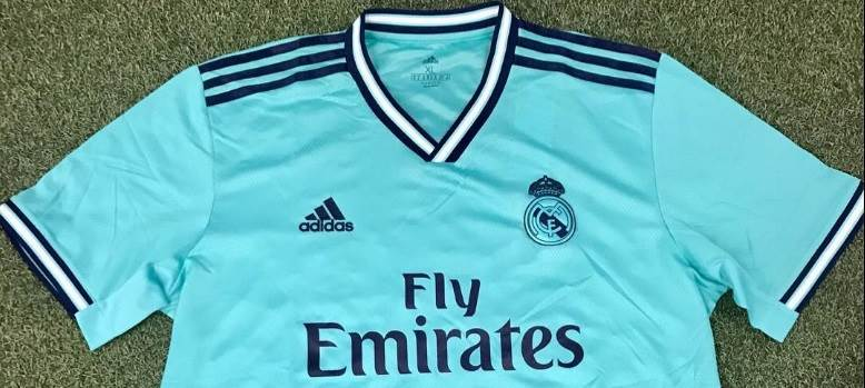differently ee239 472a9 Leaked: New pictures of Real Madrid 2019/20 third kit - and ...