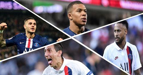 Les utilisateurs impatients de voir le quatuor Mbappe-Neymar-Di Maria-Icardi joué ensemble au PSG